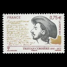 "France 2011 - Tristan Corbiere ""1845-1875"" - Sc 3973 MNH"