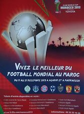 Flyer FIFA Club world cup 2013 MOROCCO Bavière Munich Atletico Mineiro...