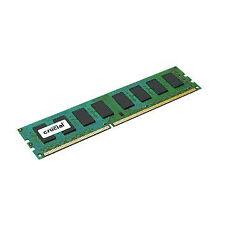 Crucial 8GB DDR3 1600 Mhz PC3-12800 240-Pin Desktop Memory Ram CT102464BA160B