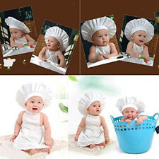 Cotton Infant Outfit Kids Photo Props Toddler Little Chef Outfits Set