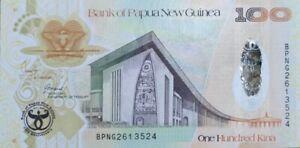 PAPUA NEW GUINEA 100 KINA 2008 P-37 COMMEMORATIVE UNC */*