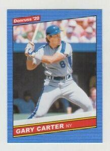 (8) Gary Carter 2020 DONRUSS 1986 RETRO CARD LOT #230 NEW YORK METS