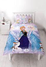 Disney Frozen Crystal Reversible Single Rotary Duvet Cover Bedding Set 2 In1