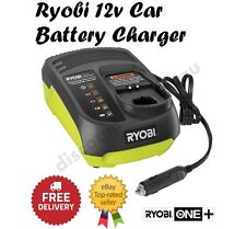 Ryobi One+ In Car Battery Charger Portable 12V DC Rechargeable Power Tool Charge