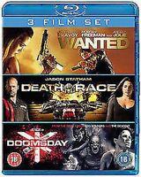 Wanted / Death Race / Doomsday Blu-Ray Nuevo Blu-Ray (8296338)
