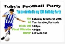 Unbranded Football Cards & Stationery for Invitations
