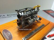 CMC 1/18 Engine Motore Alfa Romeo 8C 2900B Speciale Touring Coupè 1938 Art. M131