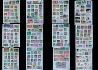 Large Stamp Collection India Bangladesh Ireland & United States, Free Shipping