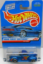 Hot Wheels 1998 First Editions '40 Ford Truck (Blue) #654