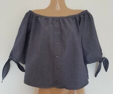 Lovely Blue Inc top size 8