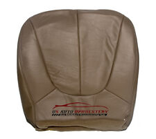 2000 Ford Expedition Eddie Bauer Driver Side Bottom Leather Seat Cover TAN