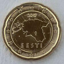 20 Euro Cent Estland 2017 unz