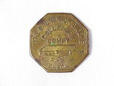 BRUNSWICK, BALKE - Collender, Compy. Check - M.T. Good for 25 Cents TOKEN