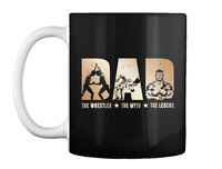 Wrestler The Myth And Legend - Dad Gift Coffee Mug