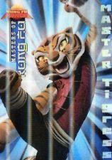 Kung Fu Panda Movie Masters of Kung Fu Lenticular Chase Card M-3 Tigress