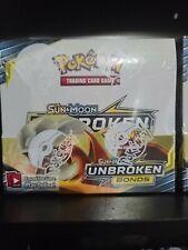 Unbroken bonds booster box sealed