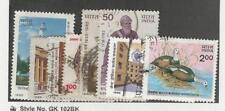 India, Postage Stamp, #1080-1088 Used, 1985
