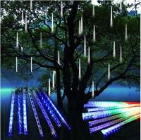 Meteor Shower Falling Star/Rain Drop/Icicle Falling LED Xmas Tree String Light