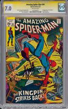AMAZING SPIDER-MAN #84 CGC 7.0 SS STAN LEE SIG SERIES  #1197760011