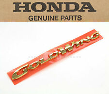 Genuine Honda Right Side Cover Emblem 98 99 00 GL1500 Goldwing (See Notes) #C52