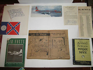 MEDIUM PRIORITY BOX FULL OF HISTORICAL & COLLECTIBLE BOOKLETS & MORE -#4