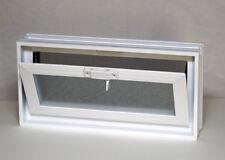 Quality Vents Fresh Air Glass Block  Hopper Ventilator