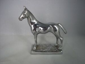 c.1950's Chrome Plated Horse Car Mascot