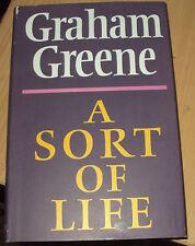 1971 - A SORT OF LIFE BY GRAHAM GREENE - HB DJ