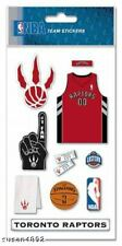 TORONTO RAPTORS NBA  BASKETBALL  STICKERS/ FAST SHIP!