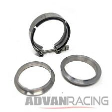 V-Band Clamp and Male/Female Flange Set - 4.inch (I.D.) 4