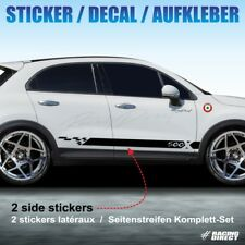 933 Kit autocollant SPORT FIAT 500X sticker decal aufkleber adesivo abarth 500 x