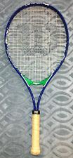 """Wilson Titanium Us Open 25 Blue White Green Tennis Racquet 3 7/8"""" Grip"""