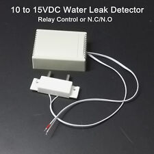 Wired Water Detector Flood Leak Alarm Sensor with Relay Switch or NC NO