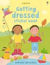 Getting Dressed Sticker Book by Usborne Publishing Ltd (Paperback, 2009)
