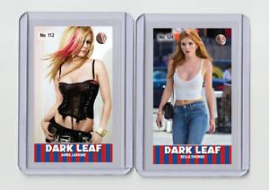 Bella Thorne rare MH Dark Leaf #'d 3/3 Tobacco card no. 124