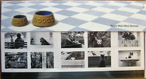 2001 Cats and Dogs Decimal Mint Stamp Presentation Pack No 320