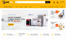 Drop Shipping Health Store Ecommerce Responsive Website Free Set Up Hosting