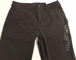 American Eagle Men's/Youth Slim Extreme Flex Khaki Pants Dark Olive Size 28 x 30