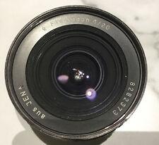 Aus Jena, Flektogon 4/20mm MF, M42 Mount, Lens