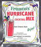 2 PACK PAT O'BRIENS HURRICANE COCKTAIL MIXES FRANCO NEW ORLEANS MARDI GRAS PARTY