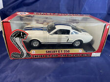 New ListingShelby Collectibles Shelby Gt 350 White/Blue 1:18