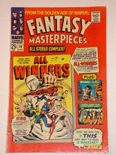 FANTASY MASTERPIECES MARVEL VOL1 #10 FN (6.0 ALL WINNERS