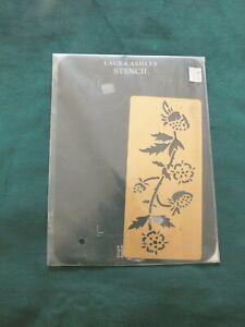 Vintage Laura Ashley  Brass Stencil - Strawberry Field