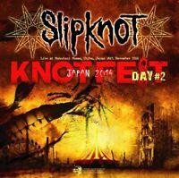 SLIPKNOT 2CD KNOTFEST JPN 2014 DAY2 LIVE NU METAL DEATH HEAVY ROCK ALX-177