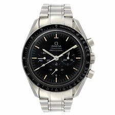 Omega Speedmaster Moonwatch Acero Cuadrante Negro Reloj de viento manual 3590.50.00