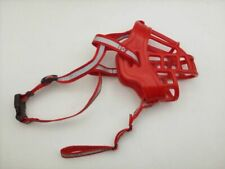 Duobing Dog Muzzle #3 Red