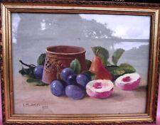 Oil on Board Still Life Iris Jones 1925