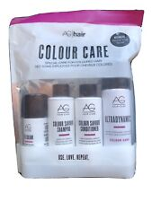 AG Hair Colour Care Colour To-Go Kit- New! Free Sample Sterling Silver Sachet