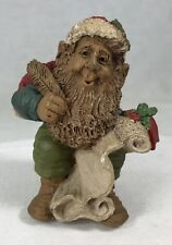 Signed Lee Sievers Gnome Who's Nice? Santa #8056 Edition #27 Cairn Studios 4.25""