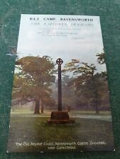 Postcard: Durham Light Infantry Camp, Ravensworth